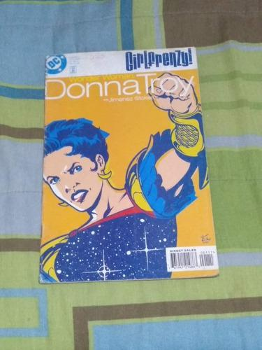 Donna troy wonder woman dc comic ingles single issue