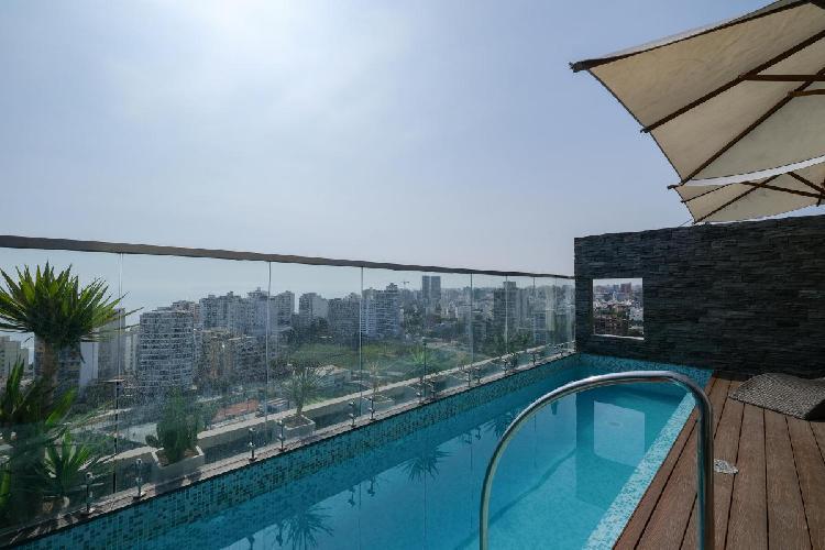 Dpt · 65 m² · 2 dorm. · 1 estacionamiento piscina