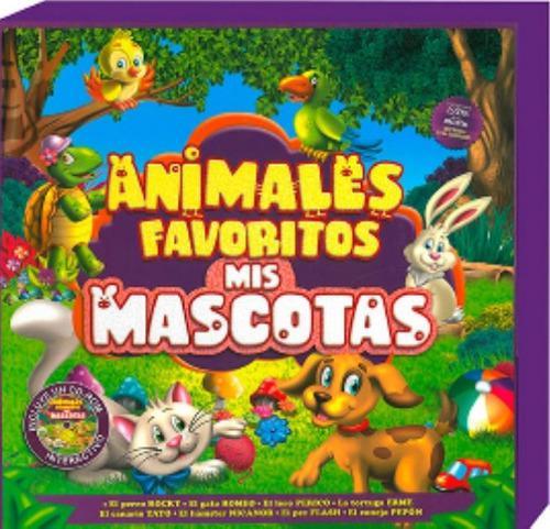 Animales favoritos mascotas 1 cd rom