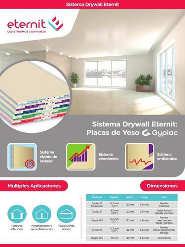Construcción drywall: paredes, techos, casas, oficinas