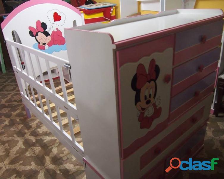 venta de cama cunas para niños y niñas