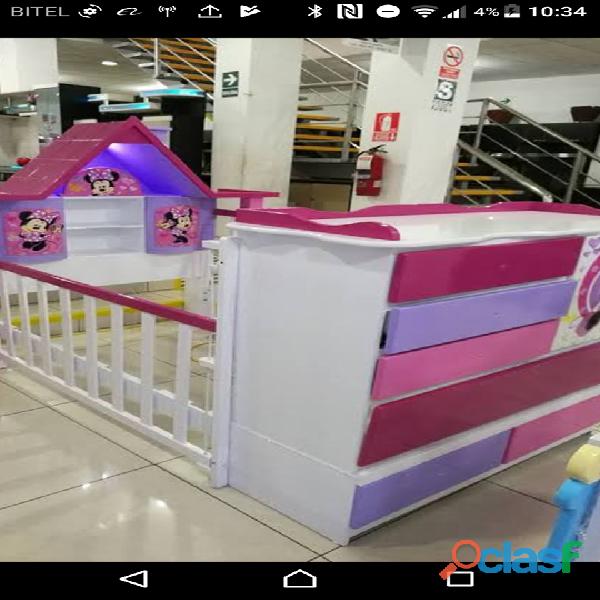 venta de cama cunas para niños y niñas 11