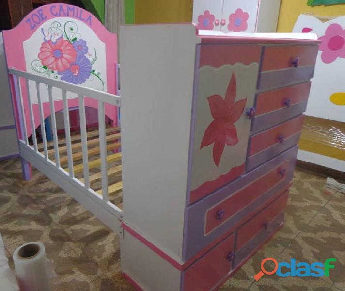 venta de cama cunas para niños y niñas 8