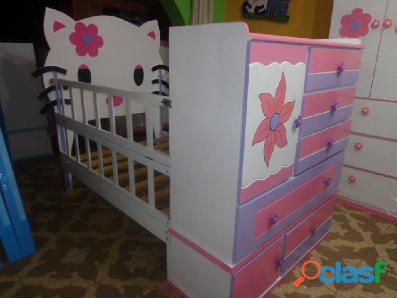 venta de cama cunas para niños y niñas 6