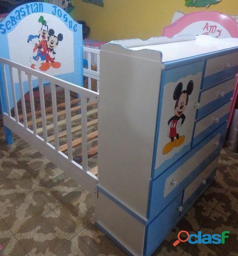 venta de cama cunas para niños y niñas 5