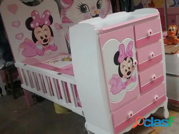 venta de cama cunas para niños y niñas 3