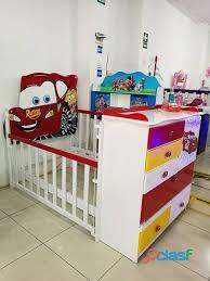 venta de cama cunas para niños y niñas 2