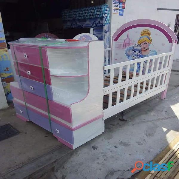 venta de cama cunas para niños y niñas 1