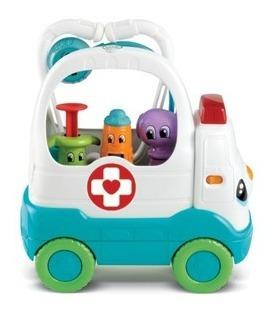 Juegos para bebés, leap frog, maletín ambulancia