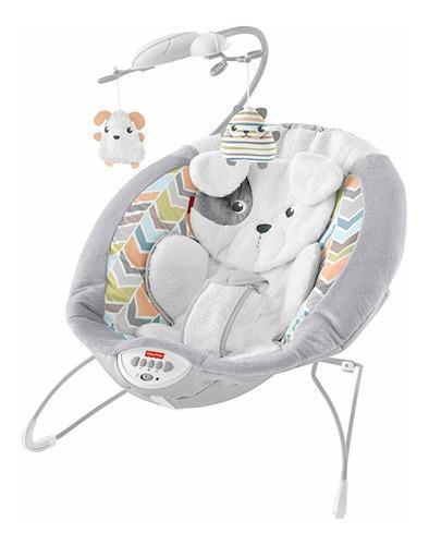 Silla mecedora vibradora para bebés musical fisher price