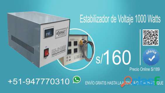 Estabilizador de corriente sólido 1kva 220vac en paruro, lima