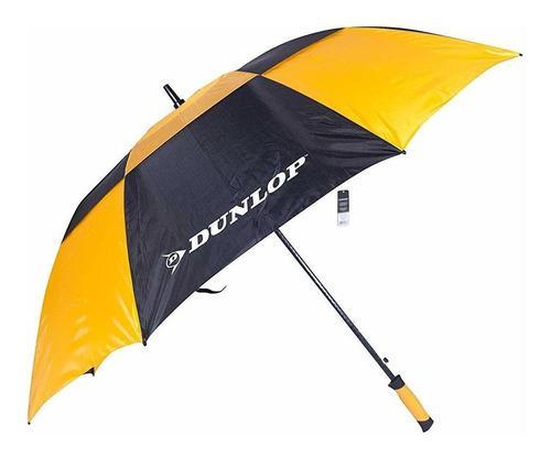 Dunlop 60inch doble canopyparaguas de golf, color bla