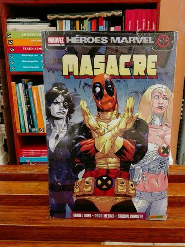 Masacre (deadpool) / daniel way / marvel - panini comics