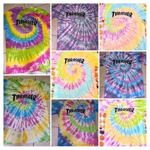 Polos/t shirts/ thrasher/tie dye/hipppies