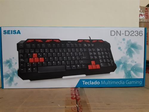 Teclados Multimedia Usb Español Gaming Win 8 & Mac Entrega