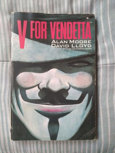 V for vendetta comic inglés alan moore vértigo