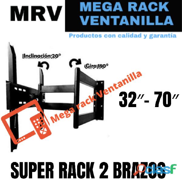 Rack para televisores