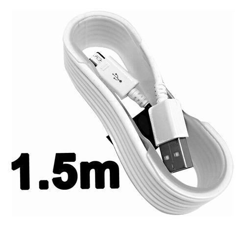 1.5 mt cable micro usb carga y datos