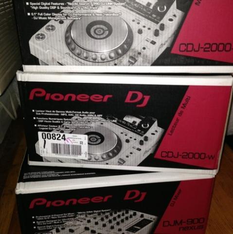 Pioneer dj limited edition nxs2-w flagship professional dj