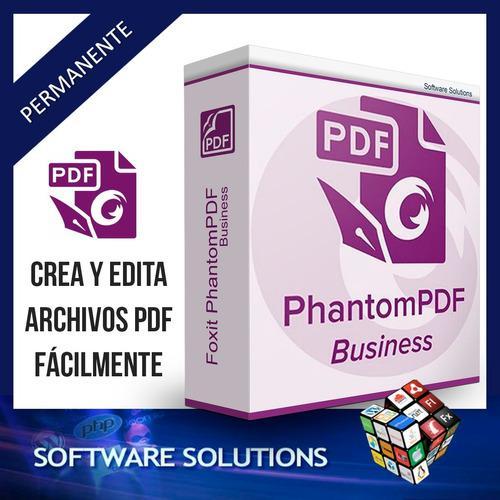 Poderoso editor de pdf - foxit phantompdf business 2020 v9