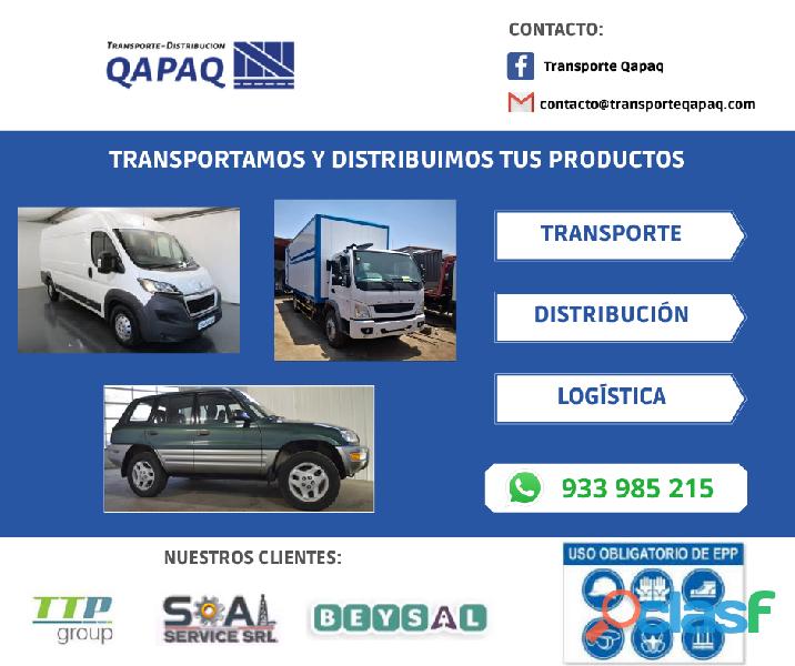 Transporte Distribucion De Carga