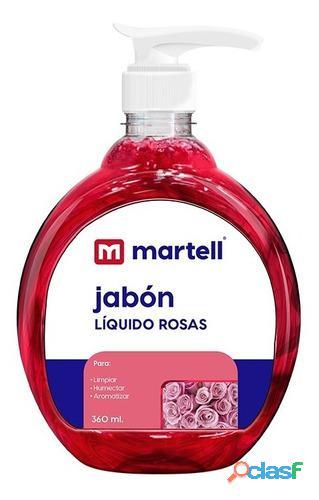 Jabon liquido antibacterial martel 360ml 1