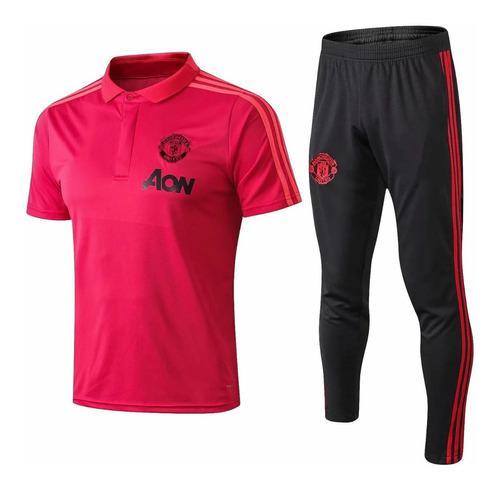 Manchester united oficial polo + buzo original a pedido