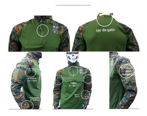 Polo camisa caballero tactico militar aisfort resguardo