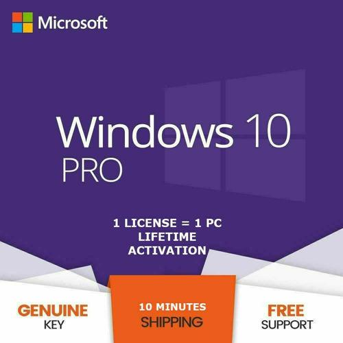Windows 10 pro professional licencia original ¿