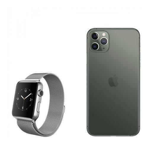 Iphone 11 pro max 256gb 4gb ram promoción + apple watch