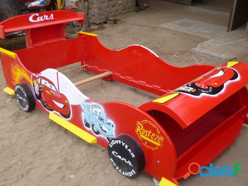 Venta de camas carro para niños y niñas
