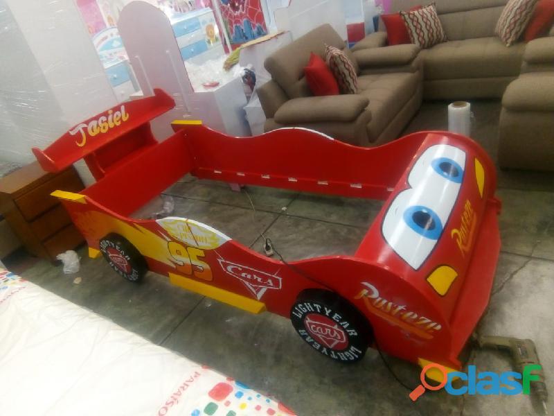 venta de camas carro para niños y niñas 1