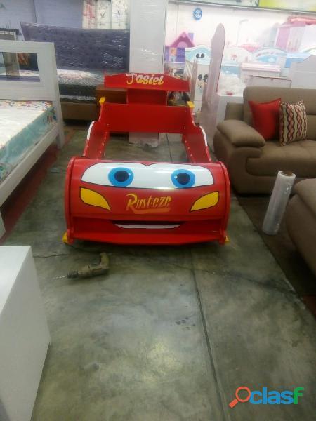 venta de camas carro para niños y niñas 2