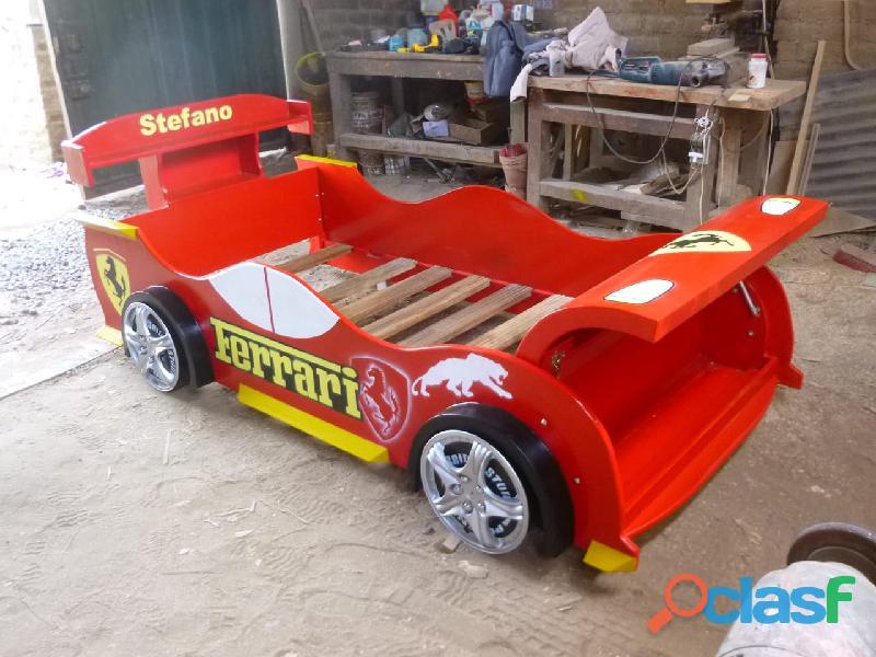 venta de camas carro para niños y niñas 4