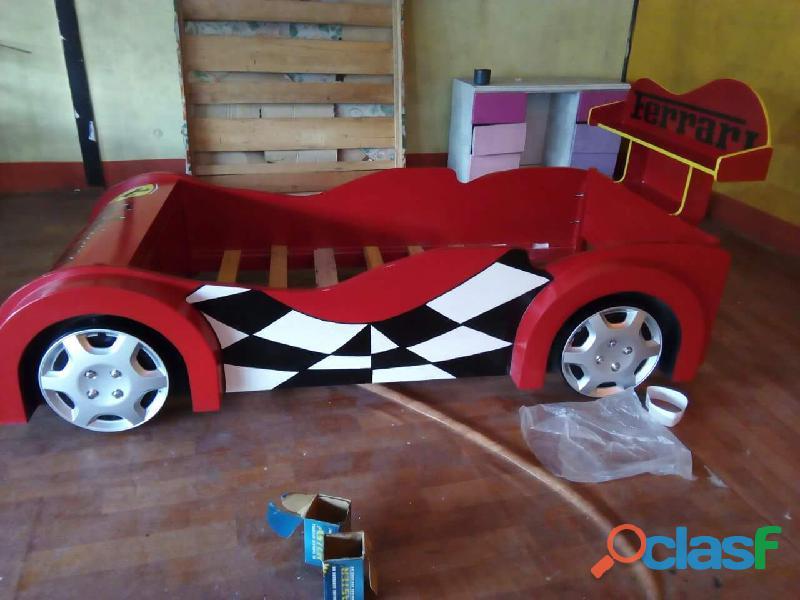 venta de camas carro para niños y niñas 5