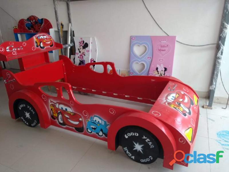 venta de camas carro para niños y niñas 6