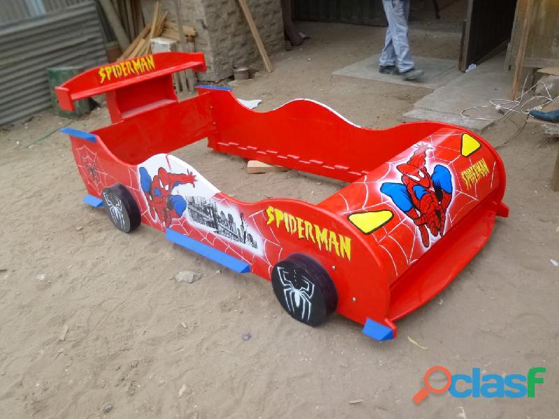 venta de camas carro para niños y niñas 7