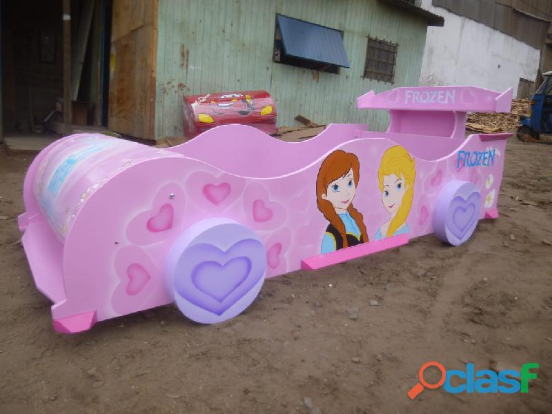 venta de camas carro para niños y niñas 8