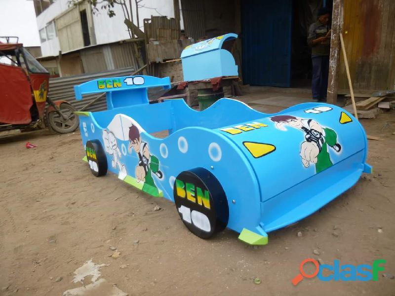 venta de camas carro para niños y niñas 9