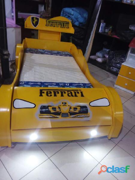 venta de camas carro para niños y niñas 10