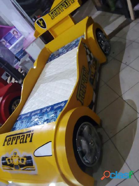 venta de camas carro para niños y niñas 11