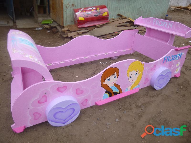 venta de camas carro para niños y niñas 12