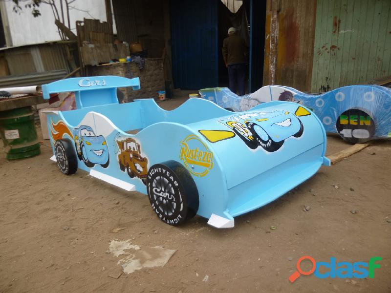 venta de camas carro para niños y niñas 13