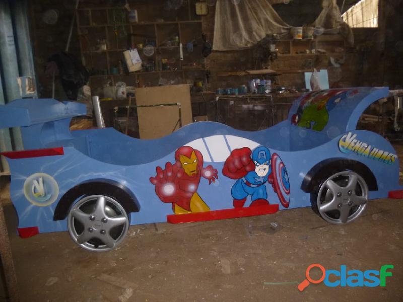 venta de camas carro para niños y niñas 14
