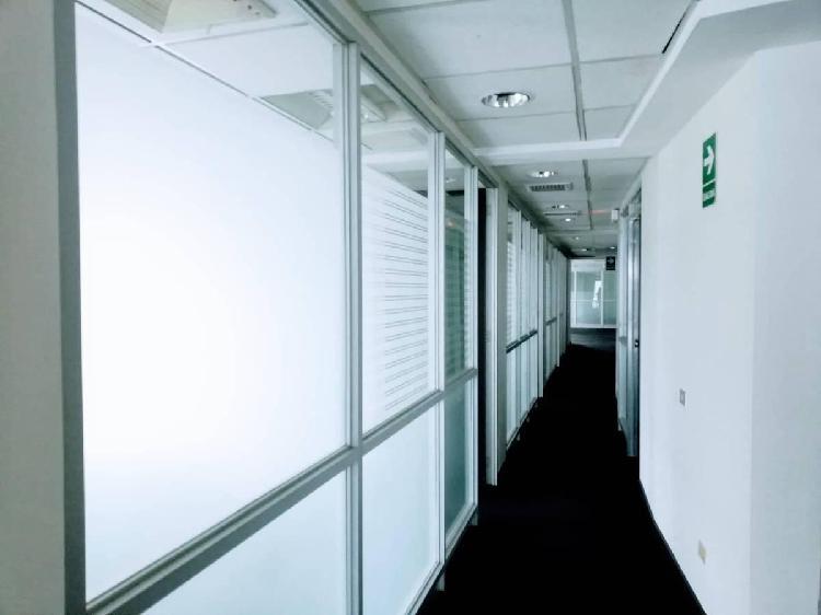 Alquiler oficina subdivisible miraflores 270 m²