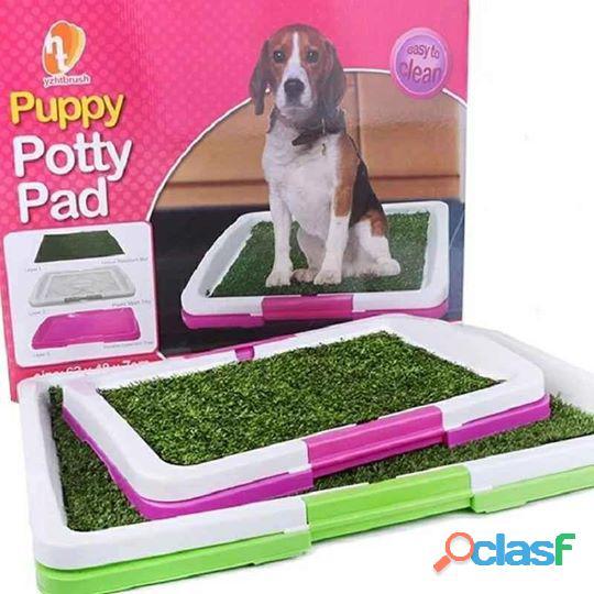 Baño urinario ecológico portátil para mascotas grande