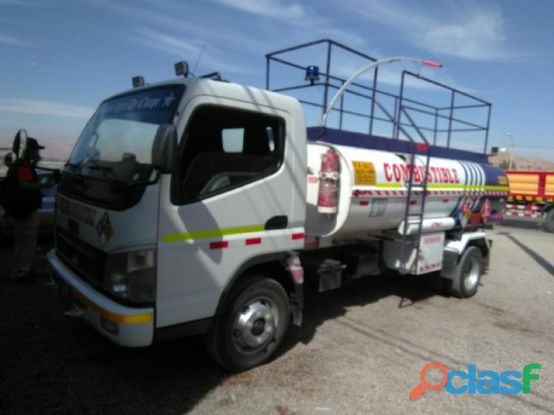 Alquiler de cisterna de combustible