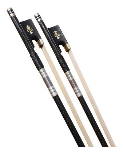 Arco de violin fibra de carbono con ebano crin de mongolia
