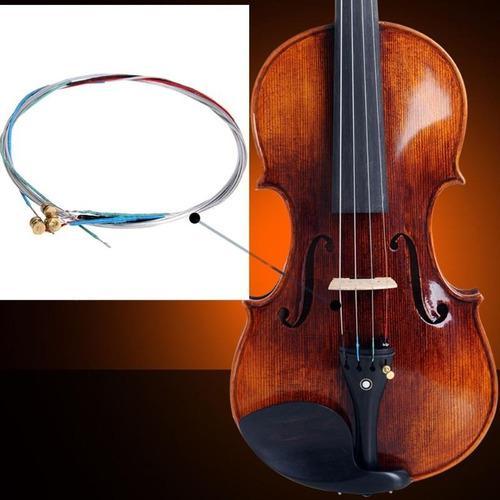 Set juego completo cuerdas de violin para principiante