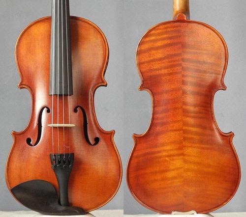 Violin 4/4 profesional luthier hecho a mano republica checa